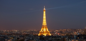 Eiffel Tower dinner & cruise & illuminations