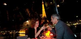 "Dinner cruise ""Bâteaux Parisiens"""