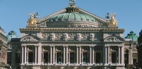 Paris right bank&Opera Garnier