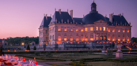 Candlelight dinner at Vaux-le-Vicomte