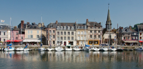Rouen & Honfleur & Giverny