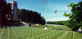 WW1 Belleau Woods US battlefield & memorial